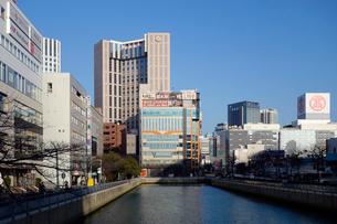 横浜の新田間川の写真素材 [FYI03005600]