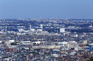湘南平から望む住宅街の写真素材 [FYI03005605]