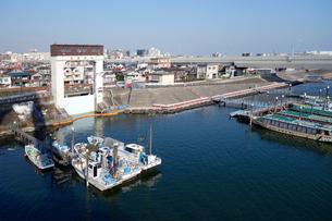羽田水門の写真素材 [FYI03005624]