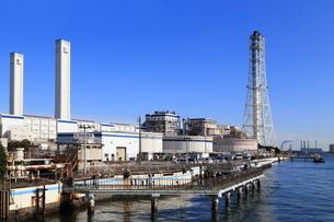 神奈川県 横浜火力発電所の写真素材 [FYI03005654]