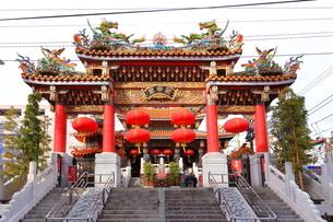 横浜 中華街の関帝廟の写真素材 [FYI03005668]
