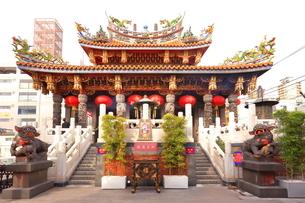横浜 中華街の関帝廟の写真素材 [FYI03005708]