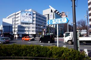 東京都 神宮前交差点の写真素材 [FYI03005752]