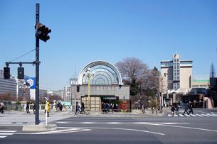 JR四ッ谷駅 麹町口の写真素材 [FYI03005758]