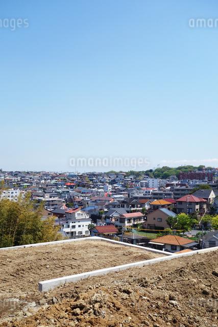 神奈川県横浜市の住宅街の写真素材 [FYI03005802]