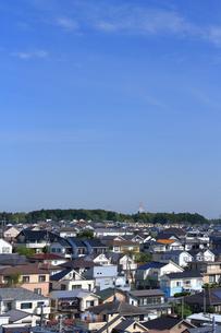 神奈川県 横浜市の住宅街の写真素材 [FYI03005803]