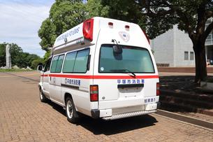 救急車の写真素材 [FYI03005815]