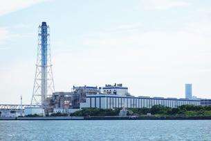 横浜火力発電所の写真素材 [FYI03005829]