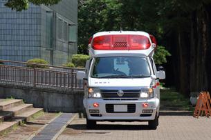 救急車の写真素材 [FYI03005839]
