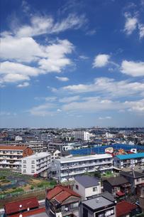 神奈川県 川崎市の住宅街の写真素材 [FYI03005994]