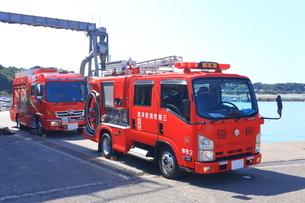 消防車の写真素材 [FYI03006016]