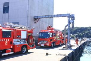 消防車の写真素材 [FYI03006017]