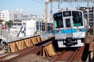 小田急電車の写真素材 [FYI03006199]