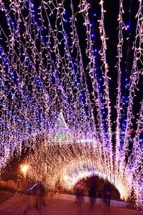 神奈川県 宮ヶ瀬のクリスマスイルミネーションの写真素材 [FYI03006215]
