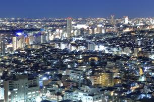密集する東京の夜景の写真素材 [FYI03006248]