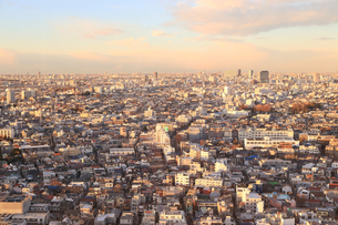 東京のビル群の写真素材 [FYI03006256]