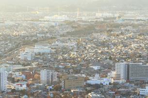 神奈川県秦野市の住宅街の写真素材 [FYI03006308]