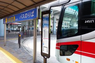 羽田空港ゆきの高速バスの写真素材 [FYI03006345]