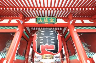 浅草 雷門の写真素材 [FYI03006351]