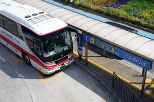 羽田空港ゆきの高速バスの写真素材 [FYI03006373]