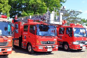 消防車の写真素材 [FYI03006493]
