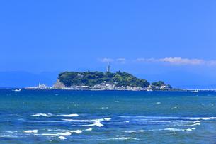 新緑の江の島の写真素材 [FYI03006516]
