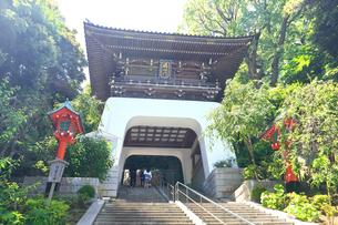 江の島 江島神社の瑞心門の写真素材 [FYI03006523]