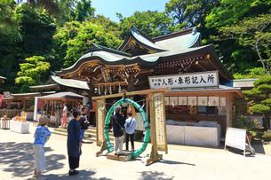 江の島 江島神社の辺津宮の写真素材 [FYI03006525]