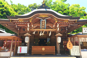 江の島 江島神社の辺津宮の写真素材 [FYI03006560]