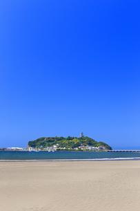 新緑の江の島の写真素材 [FYI03006570]
