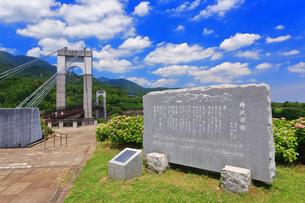 秦野戸川公園の歌碑の写真素材 [FYI03006805]