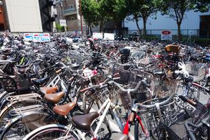 自転車置場の写真素材 [FYI03006864]
