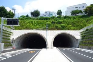 横浜市 岸谷生麦トンネルの写真素材 [FYI03006941]