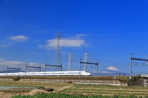 東海道新幹線の写真素材 [FYI03007020]