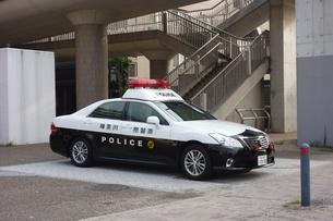 神奈川県警のパトカーの写真素材 [FYI03007023]