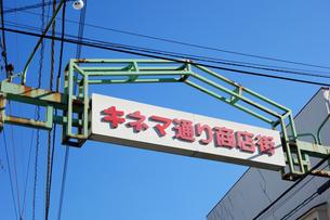 蒲田のキネマ通りの写真素材 [FYI03007036]