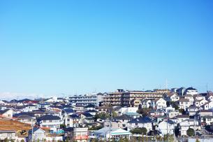 神奈川県の住宅街の写真素材 [FYI03007040]
