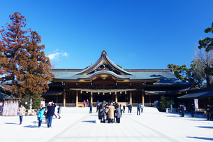 神奈川県 寒川神社の写真素材 [FYI03007059]