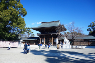 神奈川県 寒川神社の写真素材 [FYI03007060]