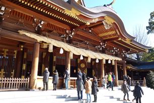 神奈川県 寒川神社の写真素材 [FYI03007061]