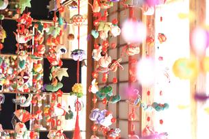 都筑民家園のひな祭りの写真素材 [FYI03007067]