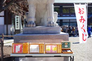 寒川神社のおみくじの写真素材 [FYI03007068]