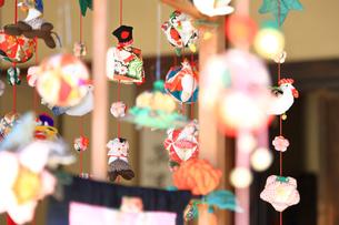 都筑民家園のひな祭りの写真素材 [FYI03007077]