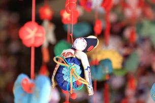 都筑民家園のひな祭りの写真素材 [FYI03007078]