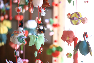 都筑民家園のひな祭りの写真素材 [FYI03007080]