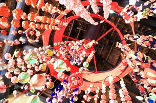 都筑民家園のひな祭りの写真素材 [FYI03007083]