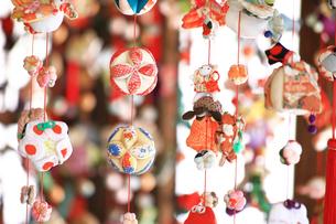 都筑民家園のひな祭りの写真素材 [FYI03007086]