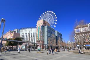 横浜市営地下鉄のセンター北駅界隈の写真素材 [FYI03007088]
