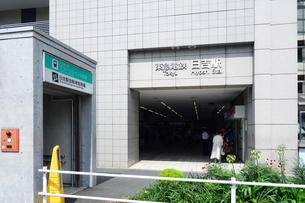 東横線 日吉駅の写真素材 [FYI03007181]