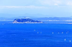 夏の江の島の写真素材 [FYI03007240]